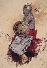 Man in Armor (preparatory sketch for Entering the Mosque)