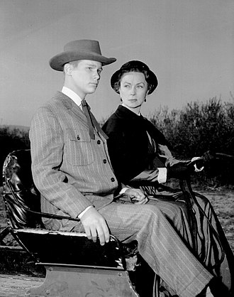 """Alcoa Theatre - Brandon deWilde and Agnes Moorehead in """"Man of His House"""" (1959)"""