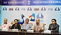 Manabendra Adhikary, Director and Anil Radhakrisnan Menon, Producer of the film 'OTHELLO' and Mukesh Mehta, Producer of the film 'NORTH 24 KAATHAM', at a press conference.jpg