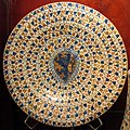 Manises, piatto con stemma tedaldi, 1473-1477 ca..JPG