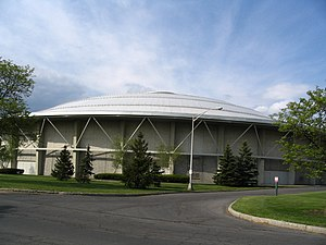 Manley Field House - Image: Manley Field House, Syracuse University