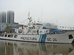 Mantilla-class patrol vessel - PNA Doctor Manuel Mantilla (GC-24)