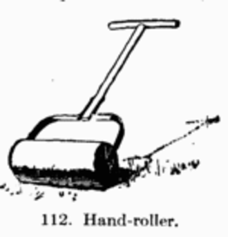 Roller (agricultural tool) - Lawn roller