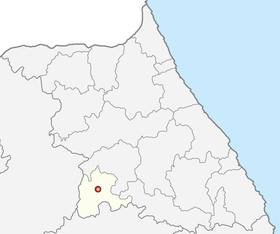 Location of Wonju