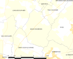 Map commune FR insee code 14385.png