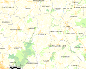 Map commune FR insee code 22191.png