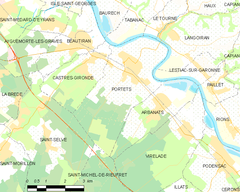 Map commune FR insee code 33334.png