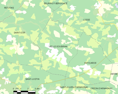 Map commune FR insee code 40327.png
