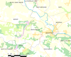 Map commune FR insee code 56228.png