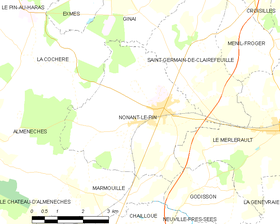 Map commune FR insee code 61310.png