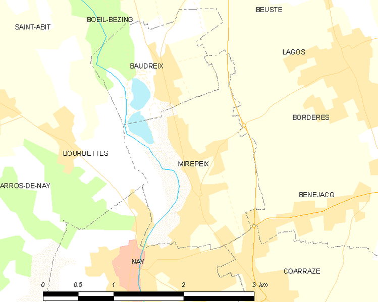 Archivo:Map commune FR insee code 64386.png