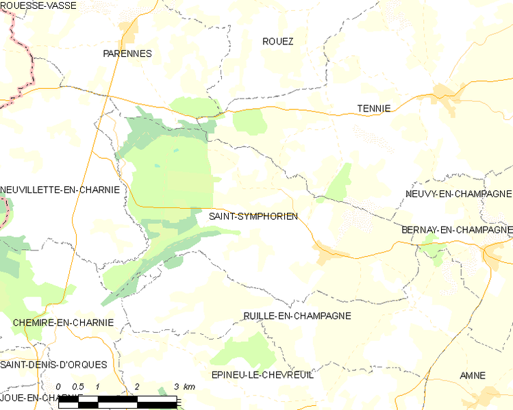 Archivo:Map commune FR insee code 72321.png