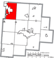 Map of Fairfield County Ohio Highlighting Violet Township.png