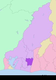 Higashi-ku, Hamamatsu Ward in Chūbu, Japan