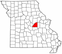 Map of Missouri highlighting Osage County.png