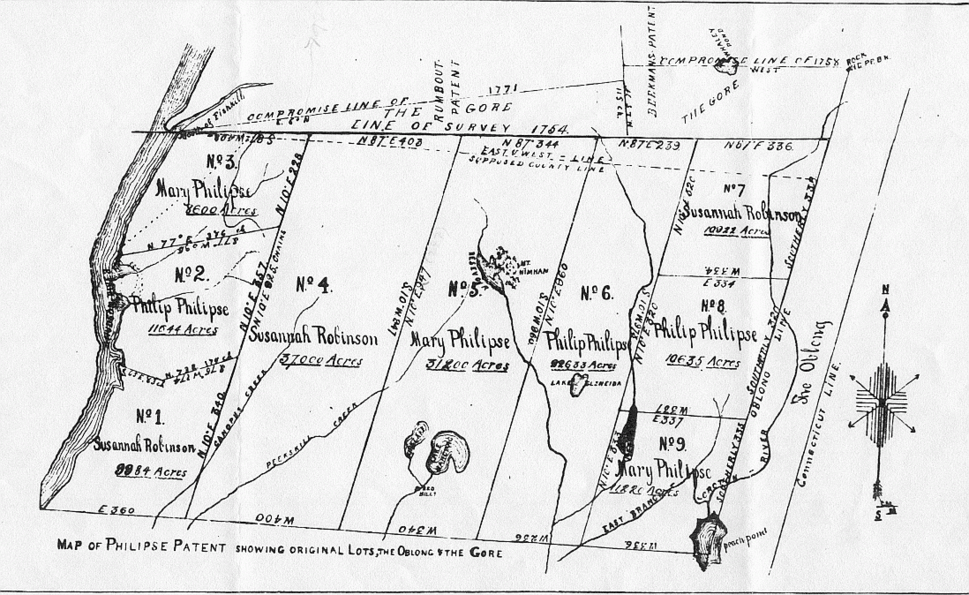 Map of Philipse Patent (showing the Oblong and Gore).png