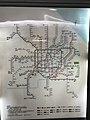 Map of Shanghai Metro in Hongqiao Railway Station.jpg