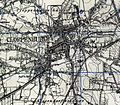 Map of pre World War II Germany TK25 Cloppenburg 3114 Cloppenburg City.jpg