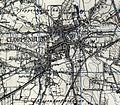 Map of pre World War II Germany TK25 Cloppenburg 3114 Cloppenburg City.jpg
