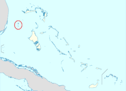 Location of Bimini