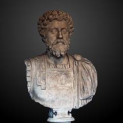 Buste cuirassé de Marc Aurèle âgé Ra 61 b