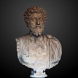 anonymous: Bust of Marcus Aurelius Ra 61 b