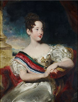 Maria II of Portugal - Maria II at age 10, 1829