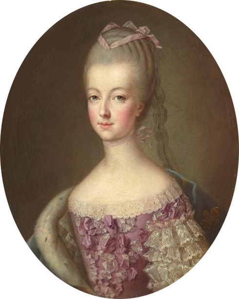 Fichier:Marie Antoinette, new Queen of France.jpg
