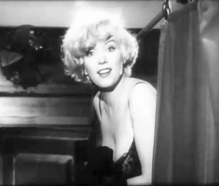 Ficheiro:Marilyn Monroe in Some Like It Hot trailer.jpg