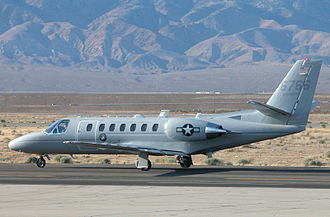 Cessna Citation family - USMC UC-35D at Mojave