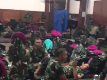 File:Marines preparing for the 2019 Indonesian elections protests.webm