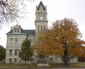 Das Marion County Courthouse in Marion, gelistet im NRHP Nr. 76000828[1]