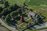 Fil:Markims Kyrka från luften.jpg