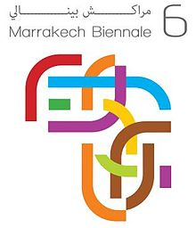 Marrakech Biennale 6 - logo.JPG