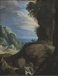 Paul Brill: Italian Mountain Landscape with Shepherds