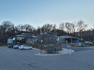 Fairfax County Public Library - Martha Washington branch of Fairfax County Public Library in 2018