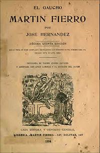 Martín Fierro cover