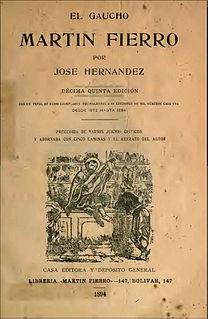 Gaucho literature literary movement in South America