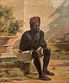 Martinus Rørbye, En siddende nubier, Rom, 1839, 0209NMK, Nivaagaards Malerisamling.jpg