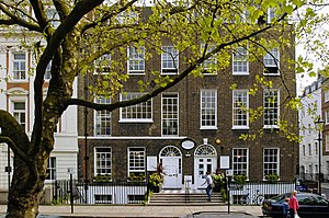 Mary Ward Centre - The centre in converted 18th century houses at 42 Queen Square