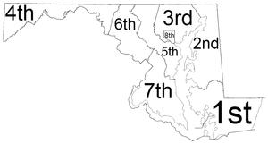 Maryland Circuit Courts - Judicial circuit map