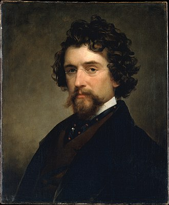 Mathew Brady - Portrait of Brady by Charles Loring Elliott, 1857