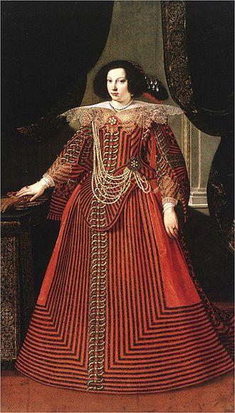 Francesco I d'Este, Duke of Modena - Maria Caterina Farnese, Francesco's first Wife