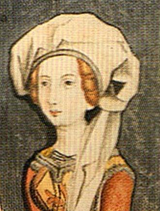 Electress of the Palatinate - Image: Matylda Savoy