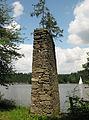 Mauerstück bei der Ruine Lichtenfels (Ottenstein).jpg