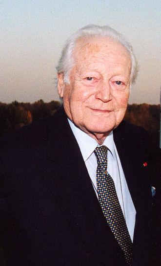 Maurice Druon - Druon in 2003