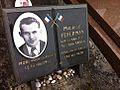 Maurice Feferman Résistant plaque cimetière Bagneux.jpg