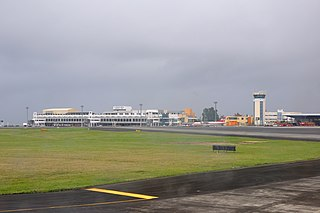 International airport serving Port Louis, Mauritius