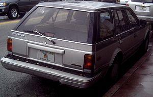 Nissan Maxima - Nissan Maxima wagon (US)