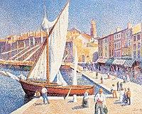 El puerto de Saint-Tropez , 1893